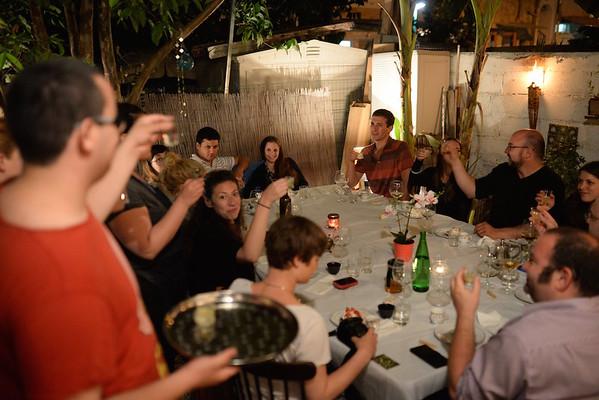 EatWith dinner on a terrace in Tel Aviv