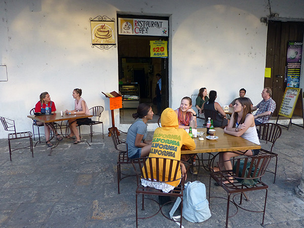 Cafe in Izamal - Is Mexico Safe to Visit?
