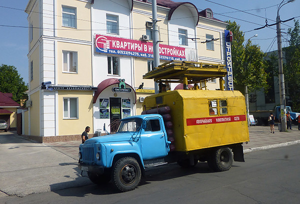Old truck in Tiraspol