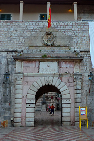 Gate to Kotor, Montenegro