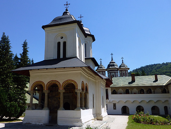 Peles Castle - Sinaia Monastery, Romania