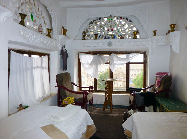 Dawood Hotel, Sanaa, Yemen (room)