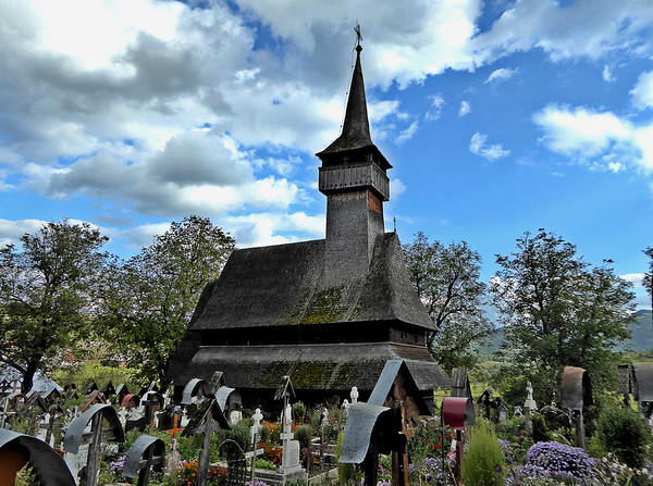 Ieud Wooden Church Maramures