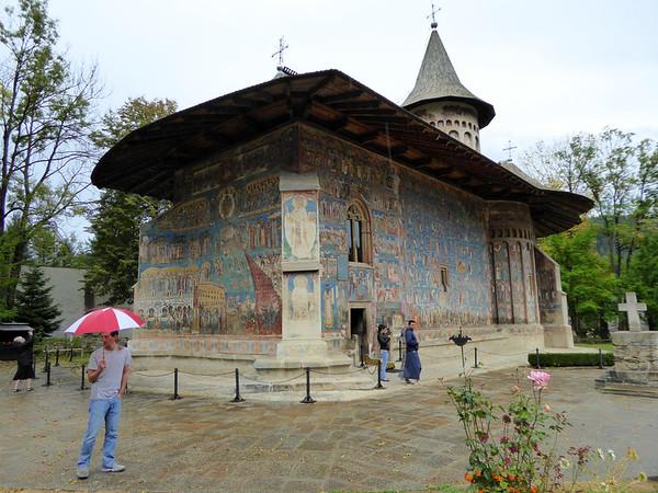 Voronet Painted Monastery, Bucovina