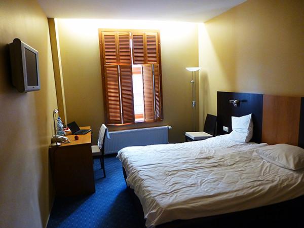 Room at Hanza Hotel, Riga, Latvia