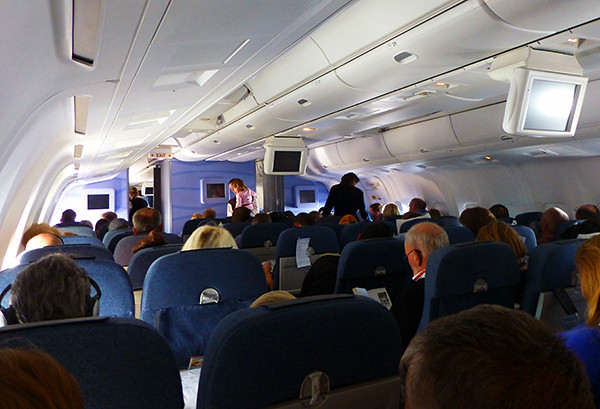 Inside Condor Flight 7078