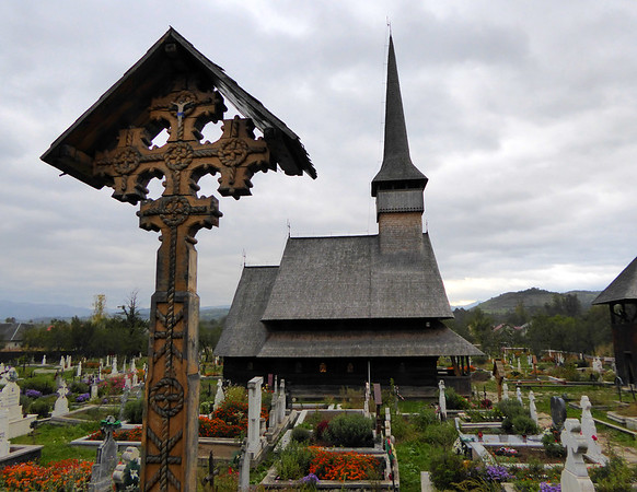Rozavlea Wooden Church, Maramures