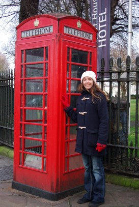 OK, who doesn't love these old telephone boxes! Please ring me now so I can escape the cold and look super cool chatting away in one.