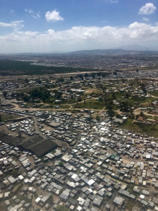 Landing in Cape Town, The Township