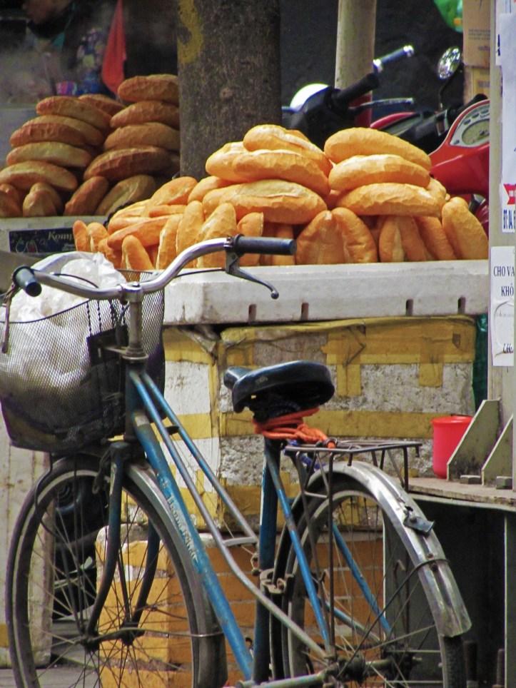 Banh mi baguettes Hanoi Vietnam
