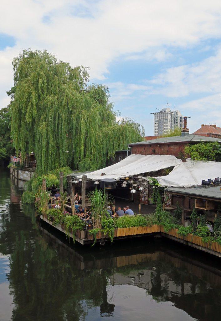 Canalside bar Berlin