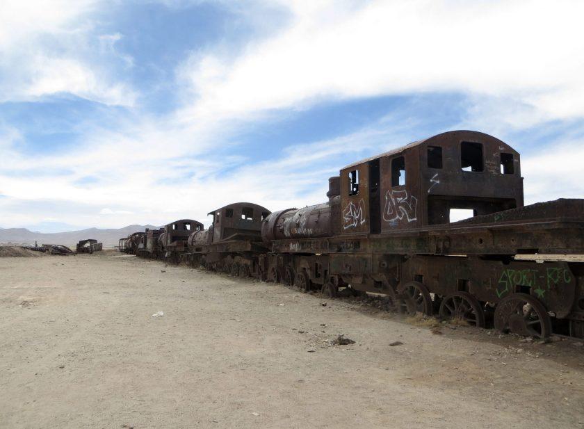 Cementario de trenes Train cemetery Bolivia