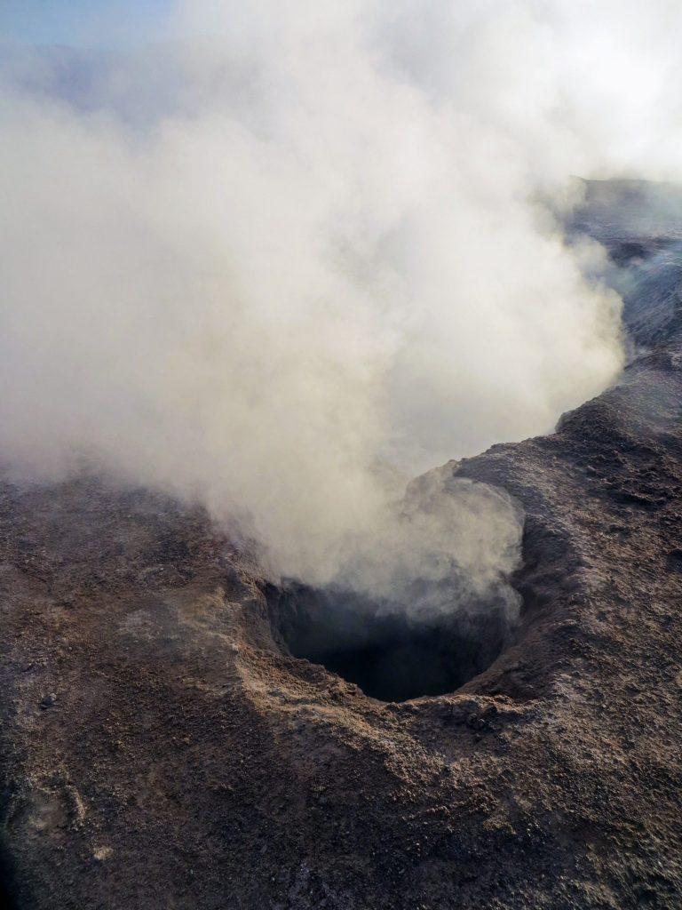 Boiling mud, Sol de Manana, Bolivia