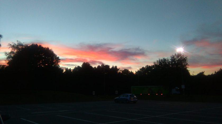 sunset carpark