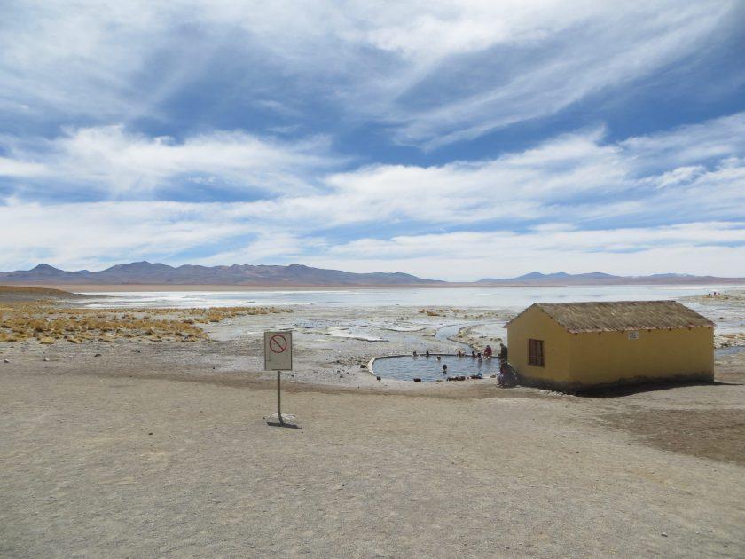 Hot springs, bolivia