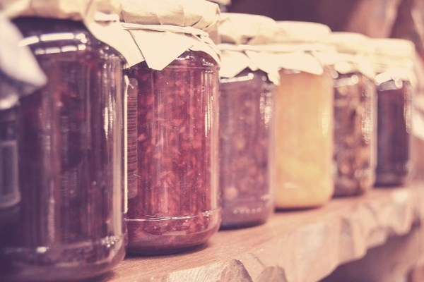 Make money from the homestead by selling preserves, jams, jellies, pickles, relishes and more. With a bountiful garden and orchard, it's easy to preserve food for your family and sell the excess. If you love canning, you could also offer your services to others that might like their fruit turned into yummy jams or jellies etc.