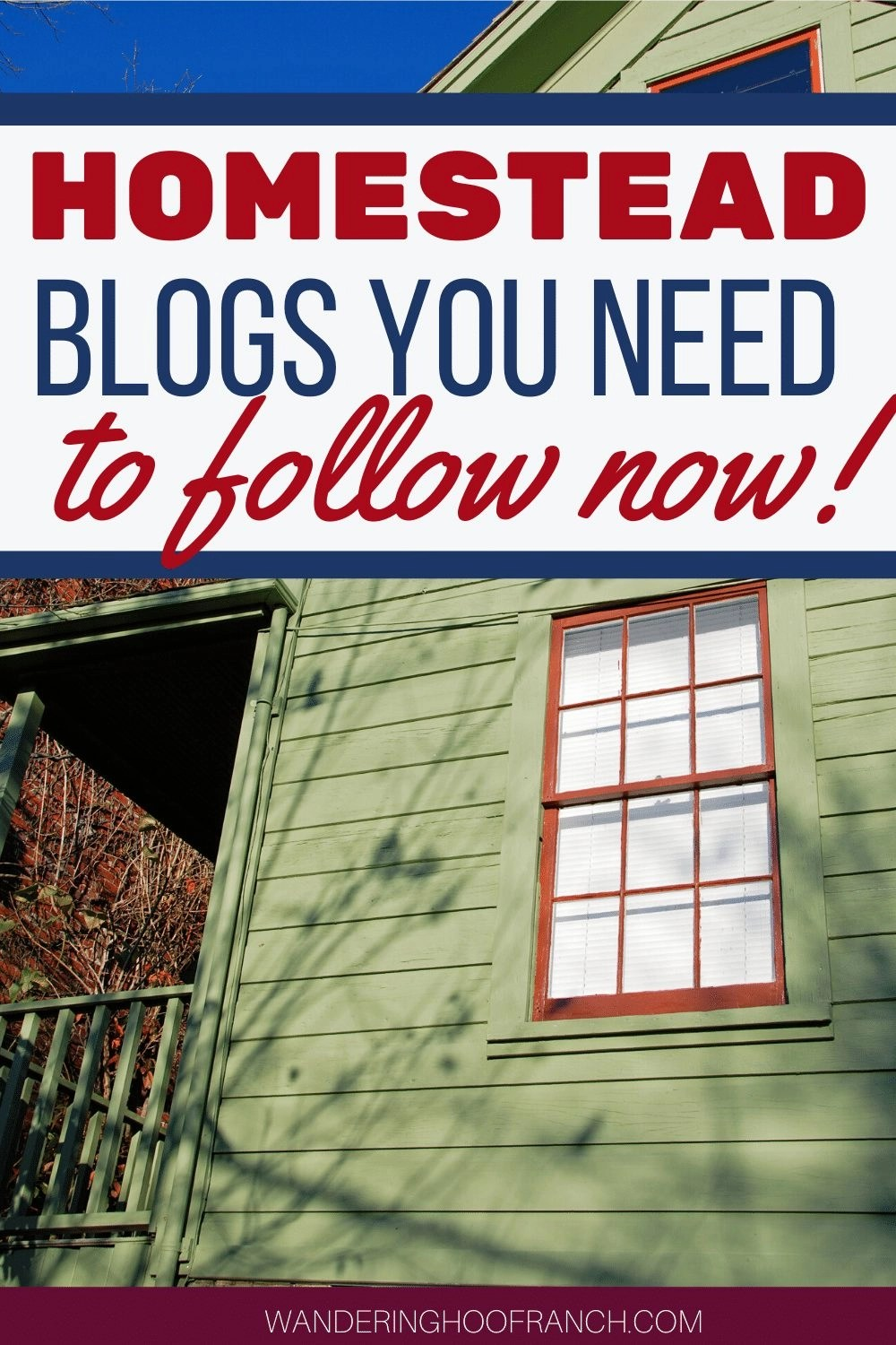 homestead blogs you need to follow now!
