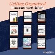 getting organized 11 products worth 219