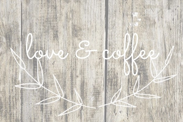 love and coffee printable