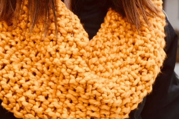 knit cowl scarf pattern