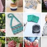 yarn stash pattern image collage