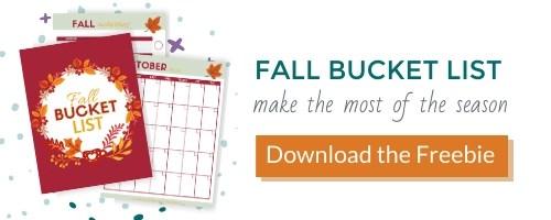 fall bucket list freebie opt in