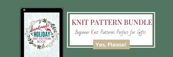 Knit Pattern Bundle Ad