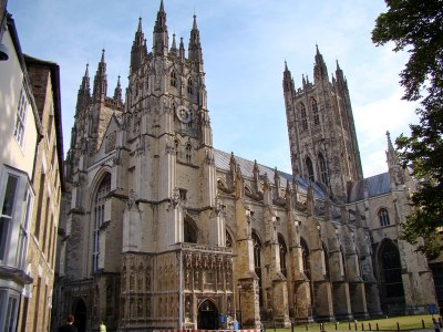 Canterbury Cathedral, England.