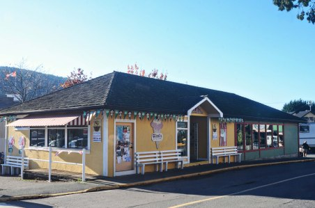 an ice cream shop