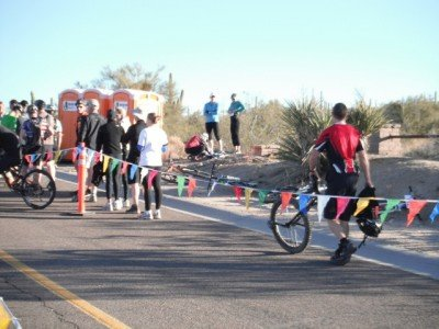 McDowell Sonoran Challenge, unicycle