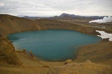 Viti Iceland crater