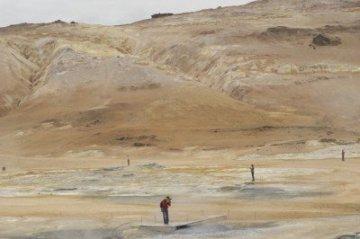Hverir Iceland geothermal