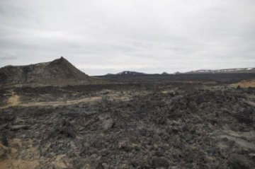 The Krafla fissure Iceland lava