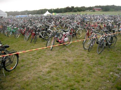 If you're going to the Ruisrock festival, get their by bicycle. It beats a bus any time.