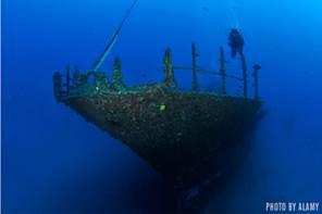 wreck dives
