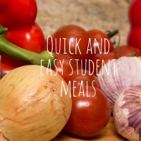 Quick and Easy Student Meals