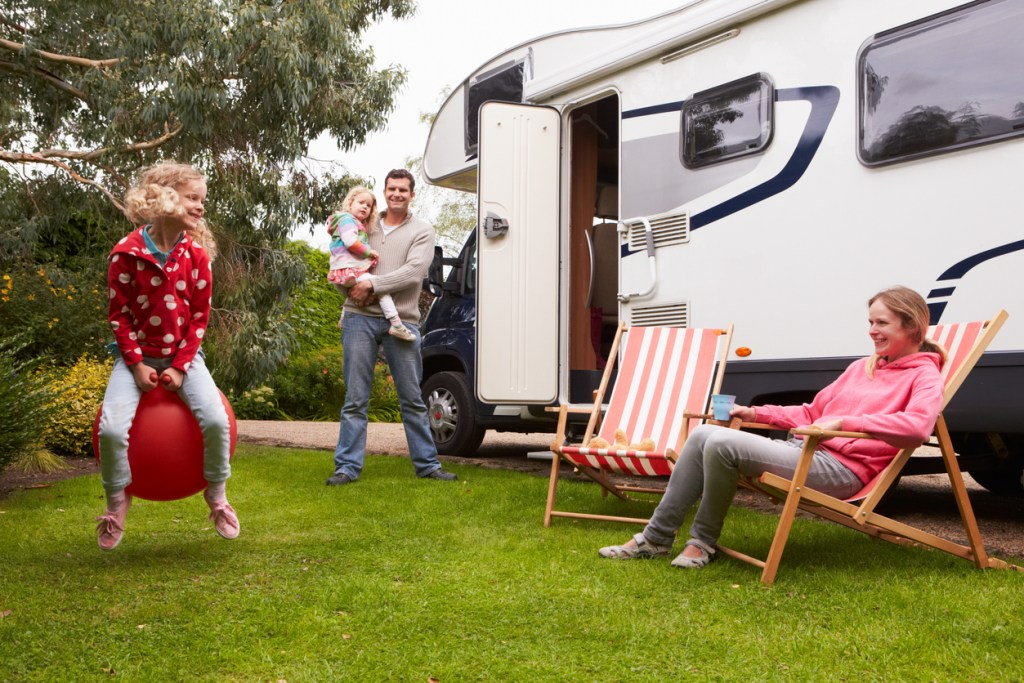 family travel during covid, family travel in an RV, RV travel