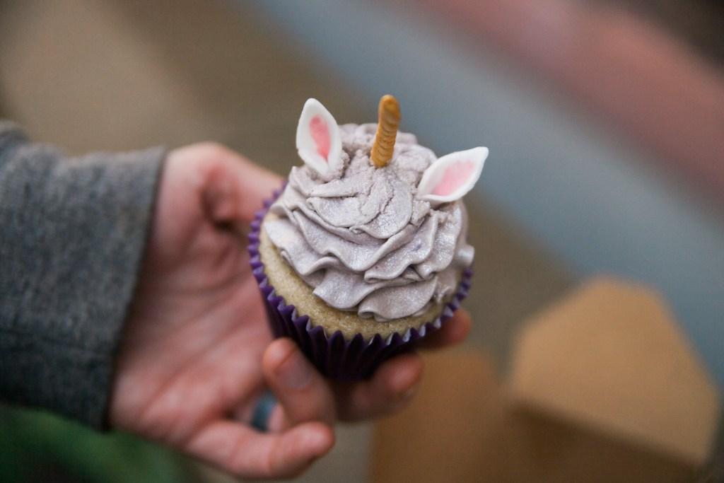 unicorn cupcake belfast ireland vegan