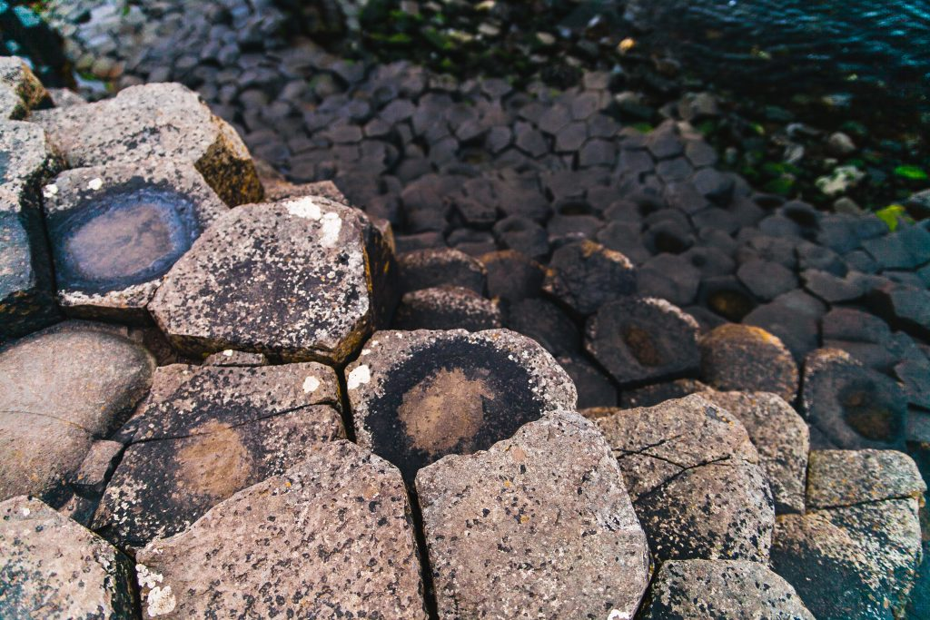 rock formations giants causeway ireland