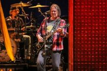 Neil Young perform at The Sydney Entertainment Centre.