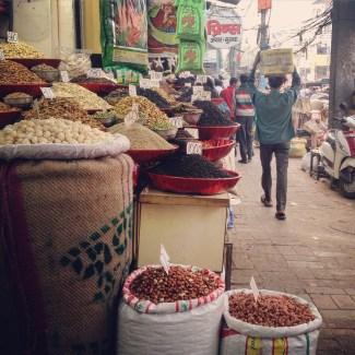 Spice Market in New Delhi