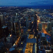 Toronto by Night - View from CN Tower