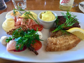 My first meal in Denmark was truly a treat.