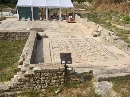 The Issa Baths are still being studied by modern day archeologists. The island also has the remains of a Greek theatre and ancient cemetery.
