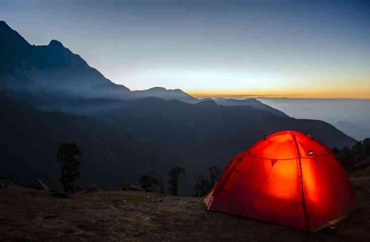 Camping in Brazil
