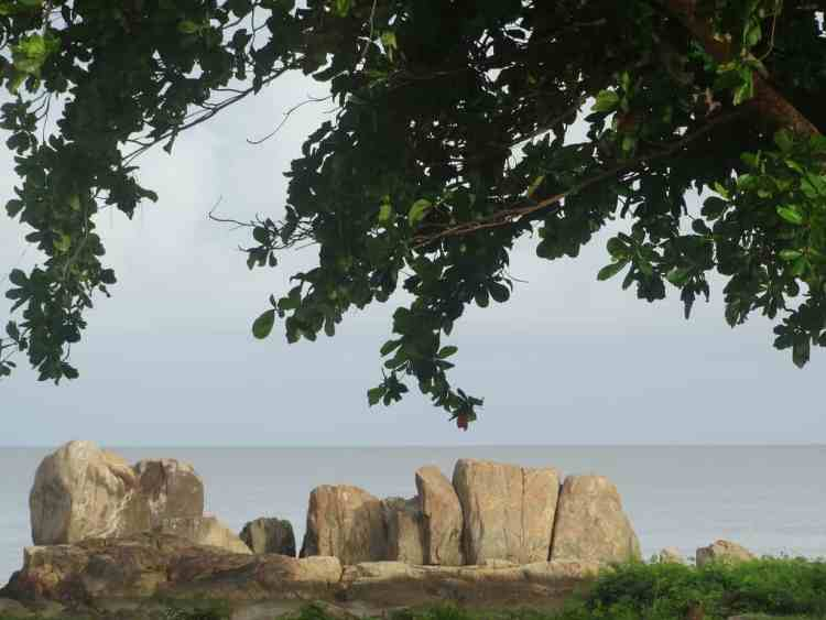 Wild camping in French Guiana