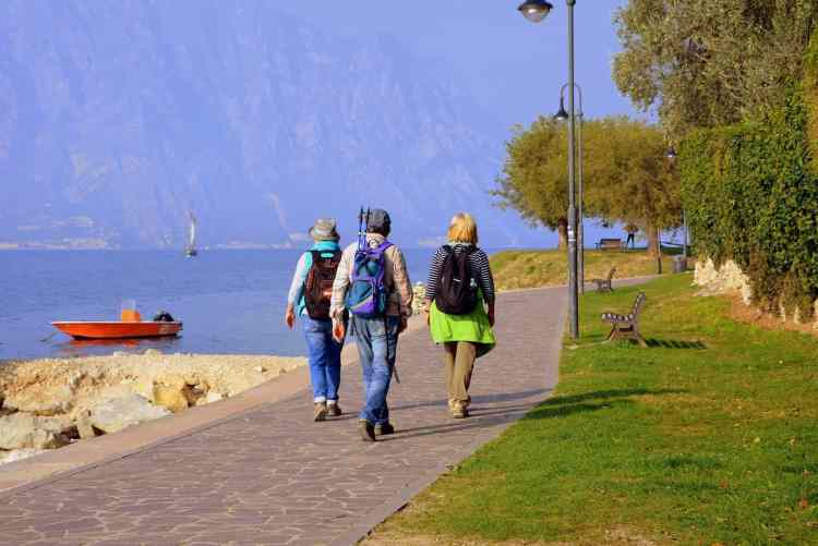 Walking Lake Garda