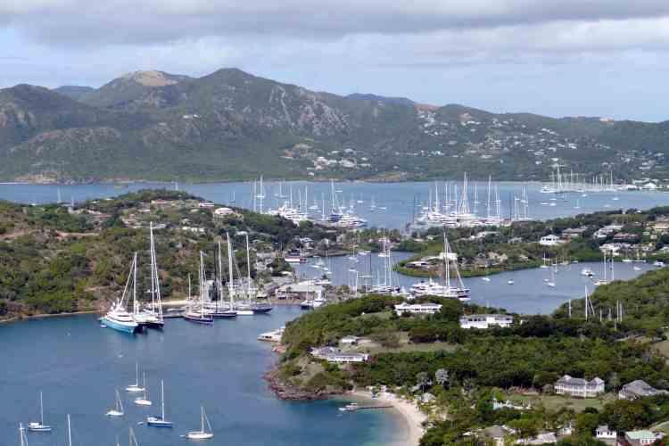 Antigua or St Lucia