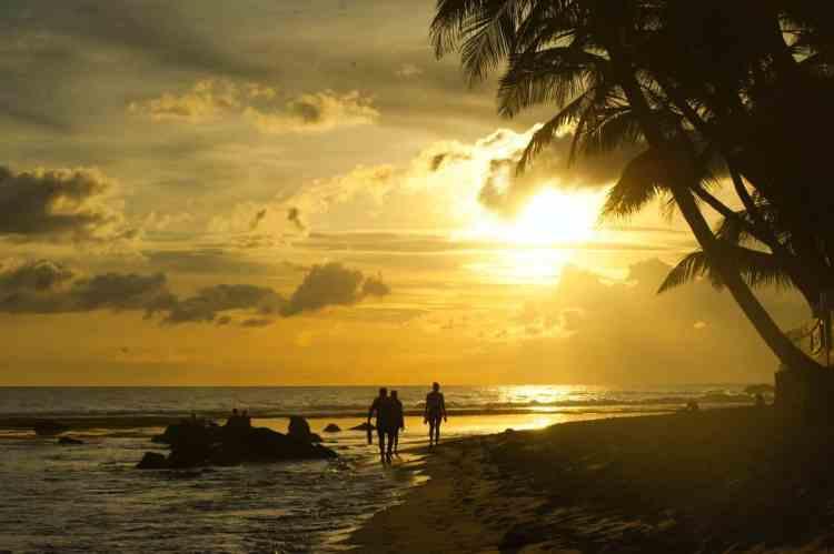 Grenada or St Lucia
