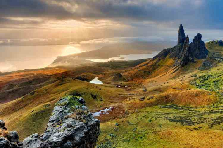 Camping in the Highlands of Scotland